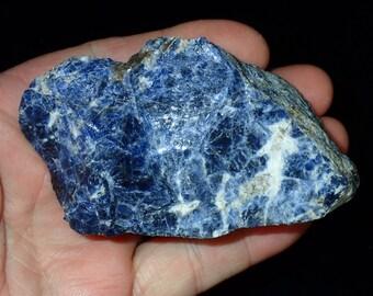 Natural Rich Blue Sodalite