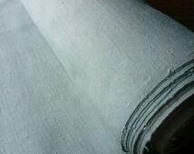Kimono Tsumugi textile dyed by indigo fresh leaves 12.3m*37cm 002