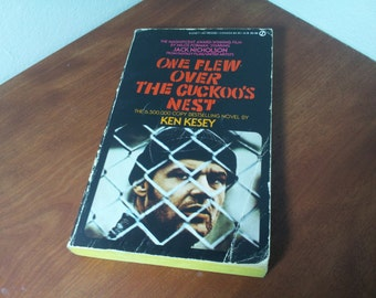 One Flew Over the Cuckoo's Nest by Ken Kesey c.1972 Paperback