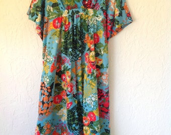 Vintage 70's groovy dress by Mr. B's in California.
