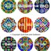 Quiltworx Tropics - Collections of Pins, Magnets and Bookmarks