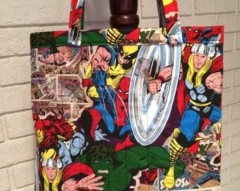 Classic Marvel (comic strips) tote bag