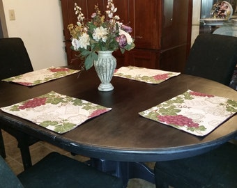 Distressed/shabby chic dining table