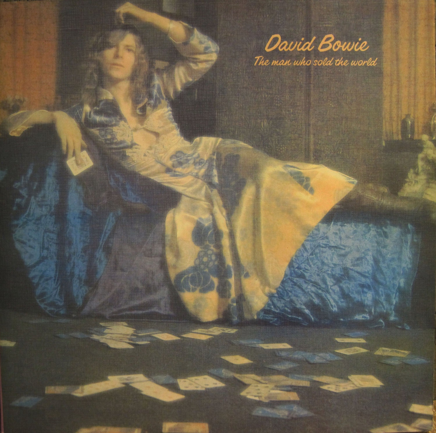 Rare '90 DAVID BOWIE The Man Who Sold the World Imported