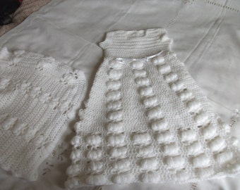 Christening Gown And Shawl