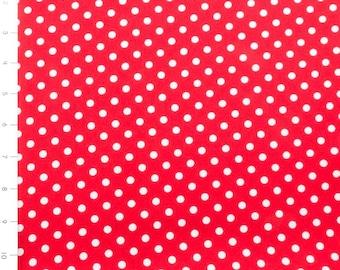 Dum Dot Red by Michael Miller