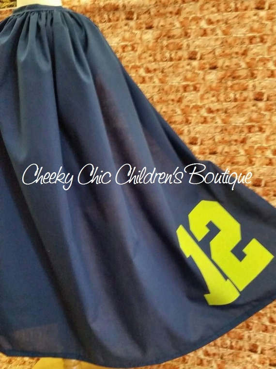 Seattle Seahawks 12th Man Cape - Adult & Child