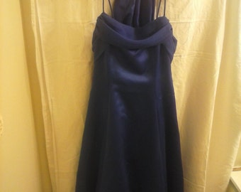 Chic Royal Blue woman dress