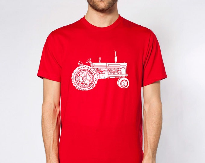 KillerBeeMoto: Vintage Tractor Short And Long Sleeve Shirt