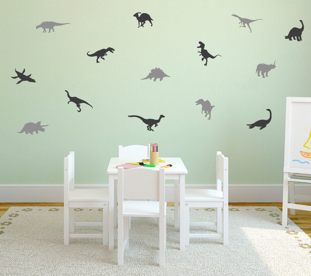 Dinosaur Wall Decal / Dinosaurs wall Decal / Dino decal