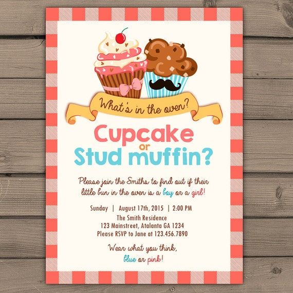 Gender Reveal Invite Wording as awesome invitation design