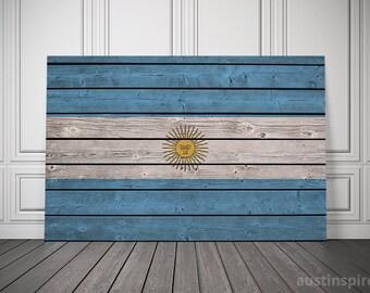 Argentina Flag (Canvas)