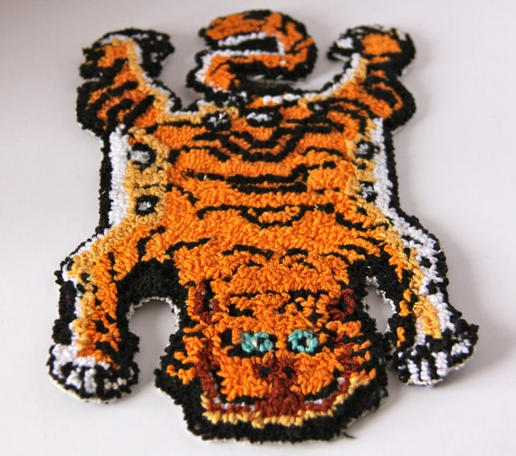 Dollhouse Size Tibetan Chinese Tiger Rug By KoolKrazyKats