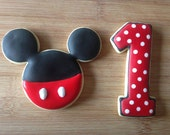 Mickey Mouse INSPIRED Cookies