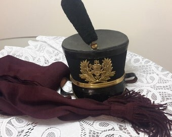 25% OFF SALE! Pennsylvania Military Cadet Hat and Sash, Very Rare, Authentic, Very Amazing Items