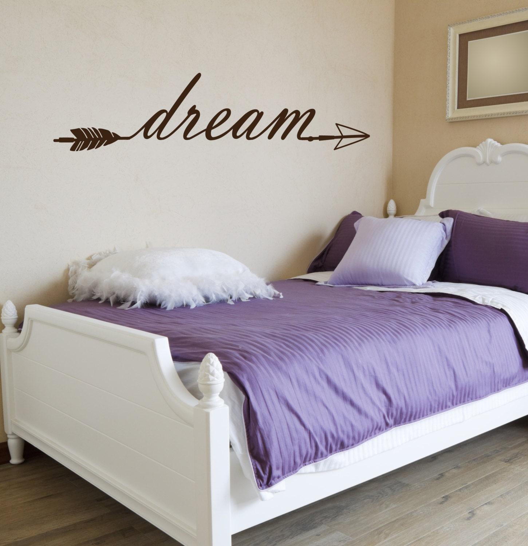 Dream Room For Decor Ideas: Dream Arrow Love Vinyl Decal Interior & Exterior Available