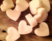 10 Bluebell Soy Wax Heart Melts