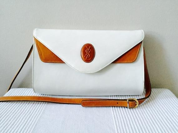 saint laurent bags uk - Vintage Yves Saint Laurent Caramel and by AgisCuteCollections