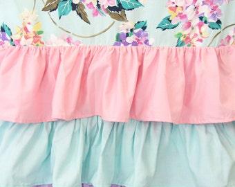 Hollys Hydrangea Ruffle Curtain Panels