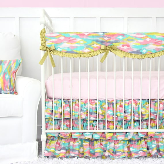 Pastel Baby Bedding Sets: 20% Off SALE Playful Pastel Baby Bedding By