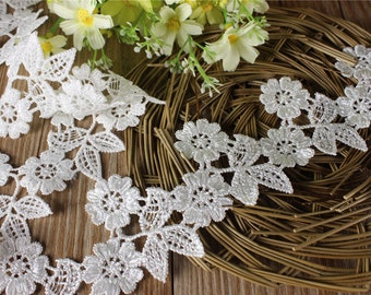 6cm white lace trim for DIY sewing,good wedding lace ribbon