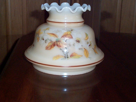 Quoizel Milk Glass Hurricane Lamp Shade Or Replacement Globe