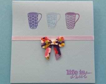 Life is sweet origami