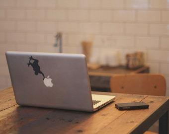 Macbook Sticker Skater