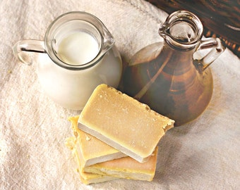 Olive Oil and Goat's Milk Soap for Sensitive Skin – Unscented Allergic Skin Soap