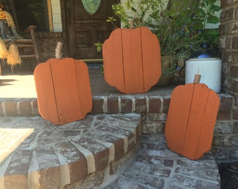 Reclaimed wooden pumpkin/ fall decorations/Pumpkins/ Pallet Pumpkins/ Reclaimed wood pumpkin