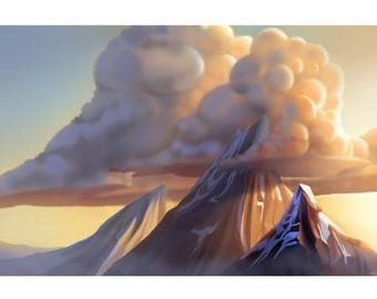 Majestic Mountain Print