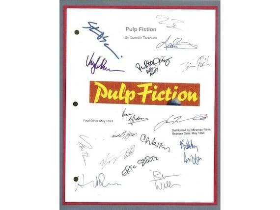 Uma Thurman Pulp Fiction Pulp Fiction Movie Scr...