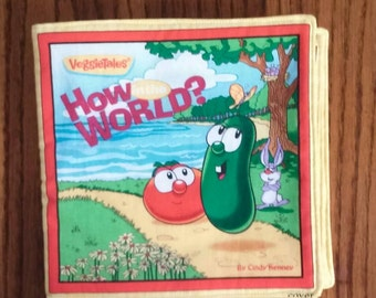 Soft Book, How In The World with Veggie Tales