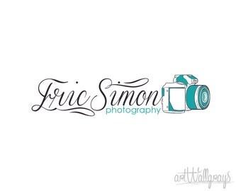 Photography Logo, Premade  Logo Design, Camera Logo