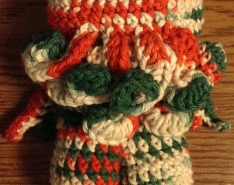 Christmas cthulhu plush handmade