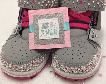 Swarovski Crystallized Kid Sneakers (Shoes not included)