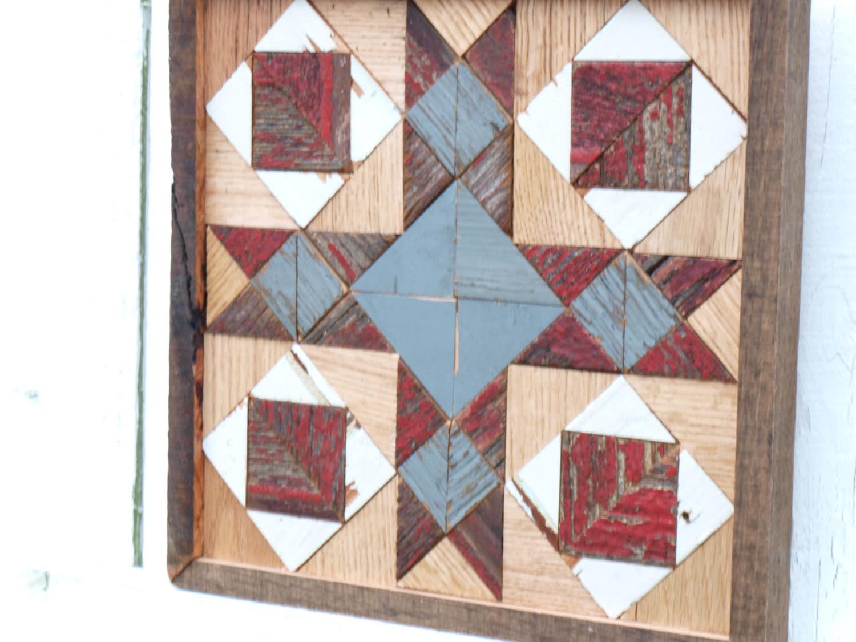Wooden Cross Barn Quilt Americana Barn By Illuminativeharvest
