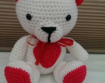 Amigurumi To Go Teddy Bear : Valentine Teddy Bear Amigurumi To Go 2016 Car Release Date