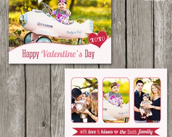 Valentine's Day Card for Photographers - Valentines Template - VDay Card - VC02