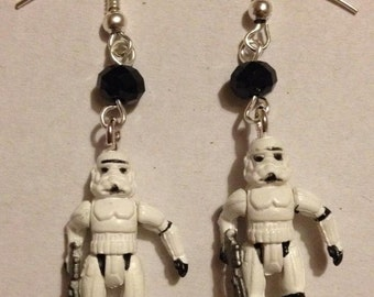 Stormtrooper Earrings / Star Wars Earrings Handmade