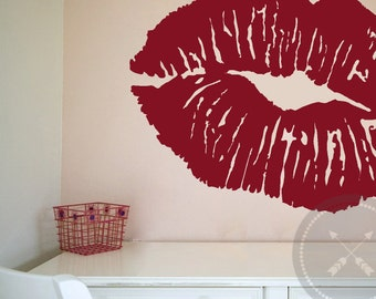Modern Wall Lips