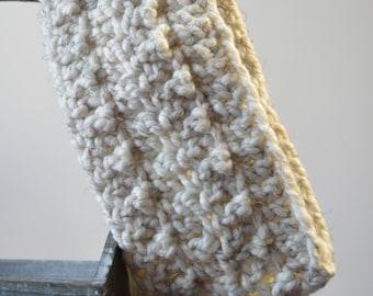 RTS - Oatmeal Crochet Headband