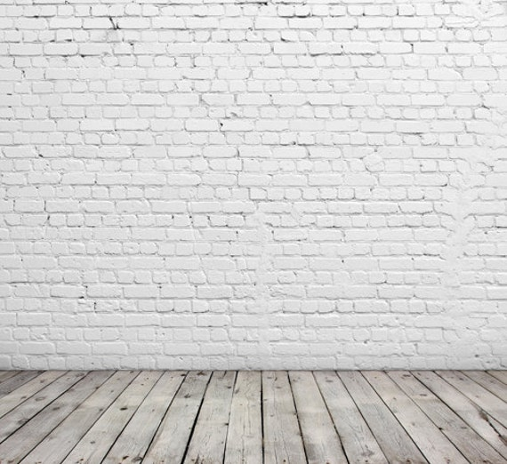Like this item. Vinyl Photography Backdrop White Brick wall Background for