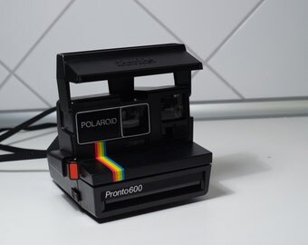 Polaroid Pronto 600 - Tested and working vintage polaroid instant camera