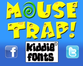 M@USE TRAP! Commercial Font