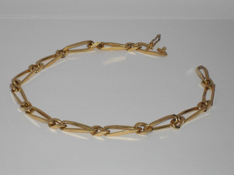 krementz gold tone bracelet