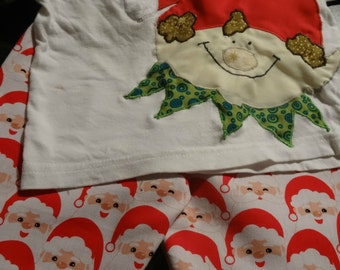 Kid's Christmas Pyjama's PDF Sewing Pattern, Size 00