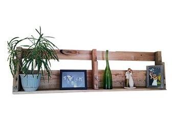 Pallet Shelf Wall Decor