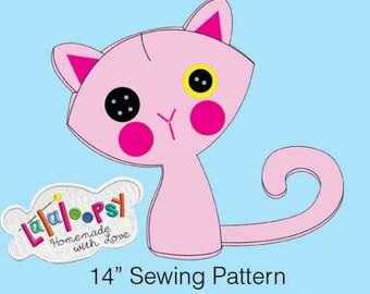 Pattern: Lalaloopsy  Kitty Plush
