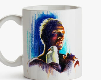 Mug, Tribute to Blade Runner, Ridley Scott - Replicant 2